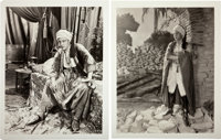 """Rudolph Valentino in """"The Son of the Sheik"""" (United Artists, 1926). Photos (2) (8"""" X 10""""). ... (Tota..."""