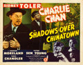 "Movie Posters:Mystery, Shadows over Chinatown (Monogram, 1946). Half Sheet (22"" X 28"").. ..."