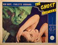"""Movie Posters:Comedy, The Ghost Breakers (Paramount, 1940). Lobby Card (11"""" X 14"""").. ..."""