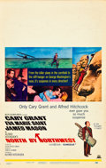 """Movie Posters:Hitchcock, North by Northwest (MGM, R-1966). Window Card (14"""" X 22"""").. ..."""