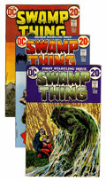 Bronze Age (1970-1979):Horror, Swamp Thing Group (DC, 1972-76) Condition: Average FN/VF....