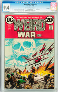 Bronze Age (1970-1979):Horror, Weird War Tales #15 Savannah pedigree (DC, 1973) CGC NM 9.4Off-white to white pages....