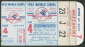 Baseball Collectibles:Tickets, 1952 World Series Game 4 Ticket Stub....