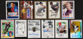 Autographs:Index Cards, Baseball Stars Signed Cards Lot Of 32....