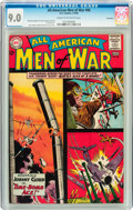 Silver Age (1956-1969):War, All-American Men of War #98 Savannah pedigree (DC, 1963) CGC VF/NM 9.0 Cream to off-white pages....
