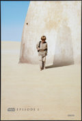 "Movie Posters:Science Fiction, Star Wars: Episode I - The Phantom Menace (20th Century Fox, 1999).One Sheet (26.75"" X 39.75"") DS Advance Style A. Science ..."