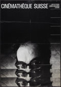 "Movie Posters:Miscellaneous, Jean-Luc Godard Swiss Film Festival (1984-1985). Swiss Poster(35.5"" X 50""). Miscellaneous.. ..."