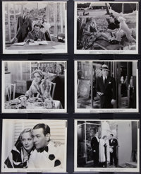 """George Raft & Dolores Costello in """"Yours for the Asking"""" (Paramount, 1936). Photos (16) (8"""" X 10""""..."""