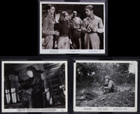 "To Hell and Back & Others Lot (Universal International, 1955). Photos (5) (approx. 8"" X 10""), One Sheets (..."