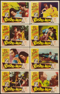 "Movie Posters:Foreign, Rashomon (RKO, 1952). Lobby Card Set of 8 (11"" X 14""). Foreign..... (Total: 8 Items)"