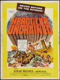 "Movie Posters:Action, Hercules Unchained (Warner Brothers, 1959). Poster (30"" X 40"").Action.. ..."