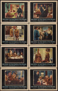 """Movie Posters:War, The Court-Martial of Billy Mitchell (Warner Brothers, 1956). LobbyCard Set of 8 (11"""" X 14""""). War.. ... (Total: 8 Items)"""
