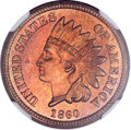 Proof Indian Cents, 1860 1C PR66 ★ NGC....