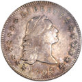 Early Dollars, 1795 $1 Flowing Hair, Two Leaves XF45 NGC. B-2, BB-20, R.3....