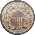 Patterns, 1882 5C Shield Five Cents, Judd-1693, Pollock-1895, Low R.7, PR63 Cameo PCGS....