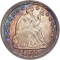 Seated Half Dimes, 1841 H10C MS67 PCGS....