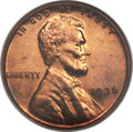 Proof Lincoln Cents, 1936 1C Type One--Satin Finish PR66 Red NGC....