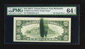 Error Notes:Ink Smears, Fr. 2026-E $10 1981A Federal Reserve Note. PMG Choice Uncirculated64 EPQ.. ...