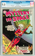 Silver Age (1956-1969):Science Fiction, Mystery in Space #90 Twin Cities pedigree (DC, 1964) CGC VF/NM 9.0 White pages....