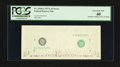Error Notes:Inking Errors, Fr. 1910-G $1 1977A Federal Reserve Note. PCGS Extremely Fine 40.....