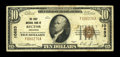 Rector, AR - $10 1929 Ty. 1 The First NB Ch. # 10853