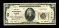 National Bank Notes:Wyoming, Cody, WY - $20 1929 Ty. 1 The First NB Ch. # 7319. ...