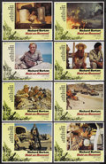 "Movie Posters:War, Raid on Rommel (Universal, 1971). Lobby Card Set of 8 (11"" X 14"").War. ... (Total: 8 Items)"