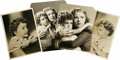 "Movie/TV Memorabilia:Photos, Donnie Dunagan Promo Photos. Set of four b&w photos of thechild actor, two 5"" x 7"", one 5.5"" x 7"", and one 5.5"" x 7.5"",inc... (Total: 1 Item)"