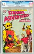 Silver Age (1956-1969):Science Fiction, Strange Adventures #157 Twin Cities pedigree (DC, 1963) CGC NM- 9.2Off-white to white pages....