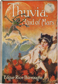 """Books:Science Fiction & Fantasy, Edgar Rice Burroughs. Thuvia, Maid of Mars. Chicago: A. C. McClurg & Co., 1920. First edition (""""Published October, 1..."""