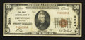 National Bank Notes:Kentucky, Princeton, KY - $20 1929 Ty. 1 The First NB Ch. # 3064. ...