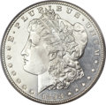 Morgan Dollars, 1898-S $1 MS64 Deep Mirror Prooflike PCGS. CAC....