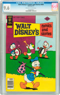 Bronze Age (1970-1979):Cartoon Character, Walt Disney's Comics and Stories #444 (Gold Key, 1977) CGC NM+ 9.6Off-white to white pages....