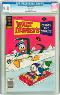 Bronze Age (1970-1979):Cartoon Character, Walt Disney's Comics and Stories #450 (Gold Key, 1978) CGC NM/MT9.8 White pages....