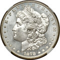 Morgan Dollars, 1878 7/8TF $1 Strong MS66 NGC....