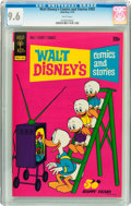 Bronze Age (1970-1979):Cartoon Character, Walt Disney's Comics and Stories #392 (Gold Key, 1973) CGC NM+ 9.6White pages....