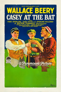 "Casey at the Bat (Paramount, 1927). One Sheet (27.5"" X 41"") Style B"