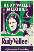 """Movie Posters:Animation, Betty Boop: Rudy Vallee Melodies (Paramount, 1932). One Sheet (27"""" X 41"""").. ..."""