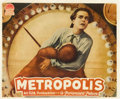"Movie Posters:Science Fiction, Metropolis (UFA, 1927). Jumbo Lobby Card (14"" X 17"").. ..."