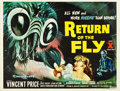 "Movie Posters:Science Fiction, Return of the Fly (20th Century Fox, 1959). British Quad (30"" X40"").. ..."