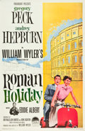 "Movie Posters:Romance, Roman Holiday (Paramount, R-1960). One Sheet (27"" X 41"").. ..."