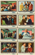 """Movie Posters:Crime, Ocean's 11 (Warner Brothers, 1960). Lobby Card Set of 8 (11"""" X 14"""").. ... (Total: 8 Items)"""