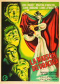 "Movie Posters:Horror, House of Dracula (Universal, 1947). First Post-War Release FrenchGrande (47"" X 63"").. ..."
