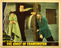 "The Ghost of Frankenstein (Universal, 1942). Lobby Card (11"" X 14"")"