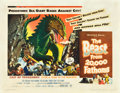 """Movie Posters:Science Fiction, The Beast from 20,000 Fathoms (Warner Brothers, 1953). Half Sheet(22"""" X 28"""").. ..."""