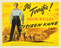 "Movie Posters:Drama, Citizen Kane (RKO, 1941). Title Lobby Card (11"" X 14"").. ..."