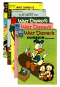 Silver Age (1956-1969):Cartoon Character, Walt Disney's Comics and Stories Plus Group (Dell/Gold Key, 1960s).... (Total: 5 Comic Books)