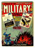 Golden Age (1938-1955):War, Military Comics #3 (Quality, 1941) Condition: GD....