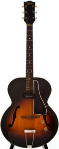 Musical Instruments:Electric Guitars, Early 1950s Gibson ES-150 Sunburst Archtop Electric Guitar,#?35427....