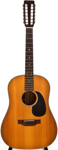 Musical Instruments:Acoustic Guitars, 1969 Martin D-12-20 Natural 12-String Acoustic Guitar, #248137....